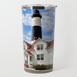 """Big Sable Point Lighthouse"" #2 Travel Mug"