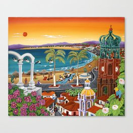 Puerto Vallarta Canvas Print
