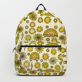 radical daydreams surf and skate // retro surf art by surfy birdy Backpack