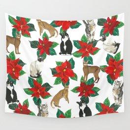 Santa Claws Wall Tapestry