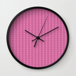 pinkpink Wall Clock