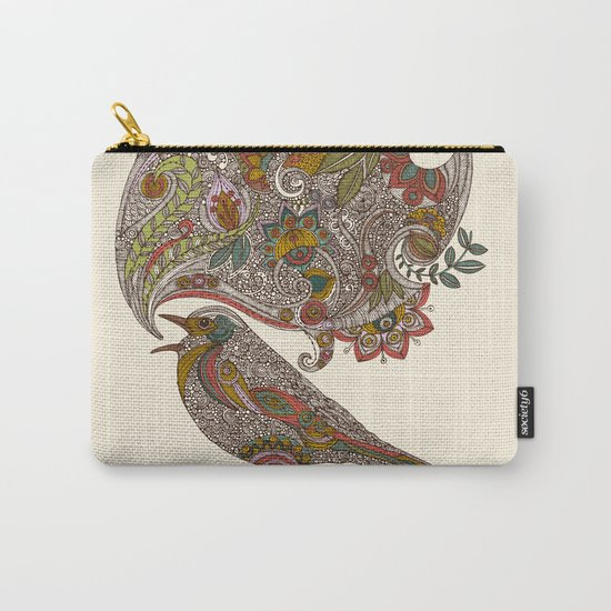 Random Talking Carry-All Pouch