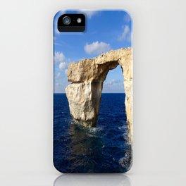 Azure Window Grotto iPhone Case