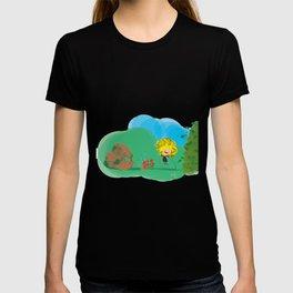 Chalk Girl T-shirt
