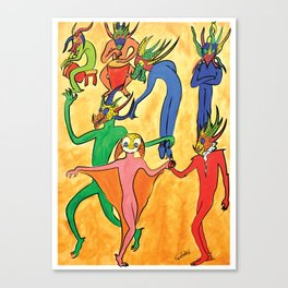 Vejigantes Canvas Print