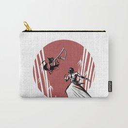 Mouthy Ninja vs Immortal Samurai Carry-All Pouch