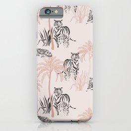 Tiger safari light iPhone Case