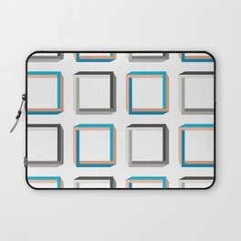 Impossible shapes alternating pattern. Laptop Sleeve