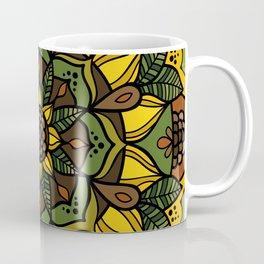 Sunflower Mandala Coffee Mug