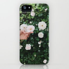 Brooklyn Flowers iPhone Case