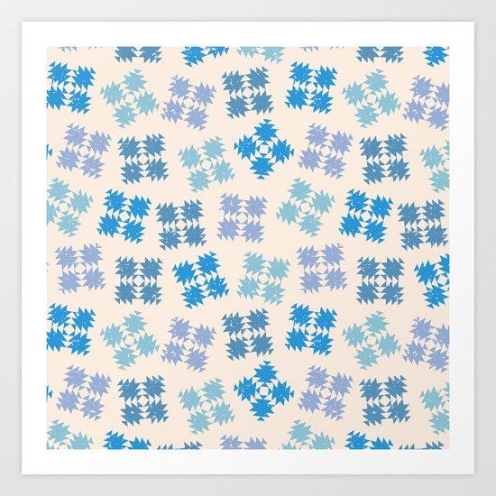 Snowflakes Art Print