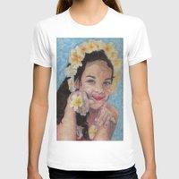 child T-shirts featuring child by Caterina Zamai