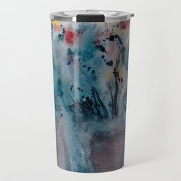 Flower Pots, An image of one my watercolor paintings Travel Mug