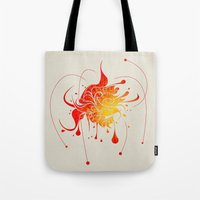 vector Tote Bags featuring Vector by Bill Labus