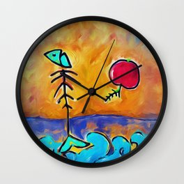 deadly world Wall Clock