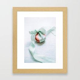 French macaron Framed Art Print