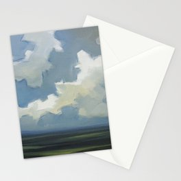 Fast Moving Clouds Stationery Cards
