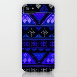 Boho Geometric Pattern Var. 2 iPhone Case