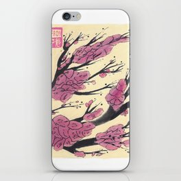 Pink Cherry Blossoms (3 of 3) iPhone Skin
