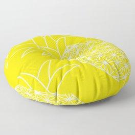 Ananas yellow Floor Pillow