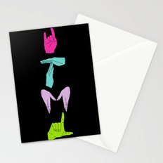 whatever total major looser/clueless    Stationery Cards