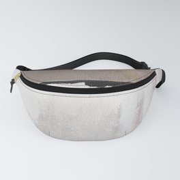 Greys, abstract minimalist Fanny Pack