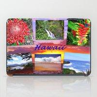 hawaii iPad Cases featuring Hawaii by Art-Motiva