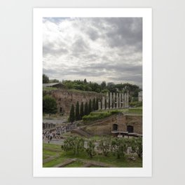 View from the Coliseum Art Print
