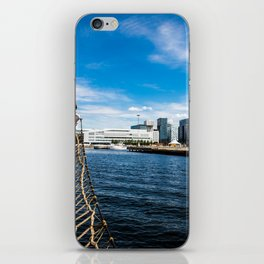 Boat Sailing on Oslo Fjord iPhone Skin