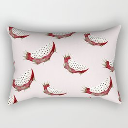 Dragon fruit watercolor pattern Rectangular Pillow