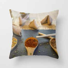 Herb and Spices. Throw Pillow