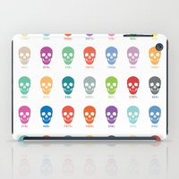 pantone iPad Cases featuring Pantone Skulls by James Northcote
