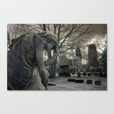 Anguish IR Canvas Print