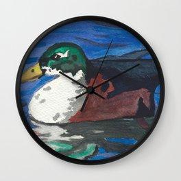 Poindexter Wall Clock