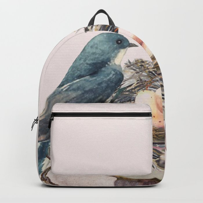 Bird nest in a teacup Backpack