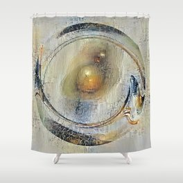 Peaceful Quandary Shower Curtain