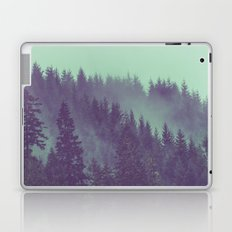 Fog Forest - Green Adventure Awaits Laptop & iPad Skin