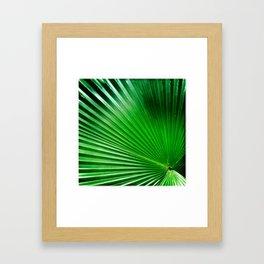 Green Angles Framed Art Print