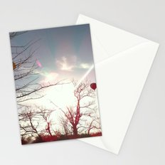 Sunset Hot Air Balloons Stationery Cards