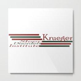 Krueger Sleep Disorders Institute Metal Print