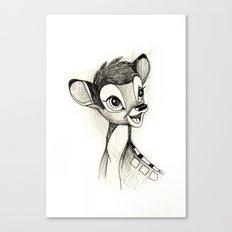 Bambi Canvas Print