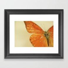 Love is like a Butterfly.... Framed Art Print
