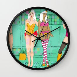 Dessous Party Wall Clock