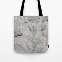 Pixel Snow Tote Bag