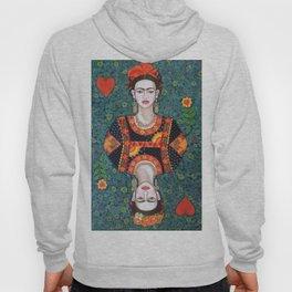 Frida, queen of Hearts Hoody