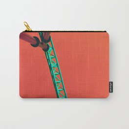 Teal Coaster Carry-All Pouch