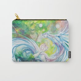 Playful Forest Spirit Carry-All Pouch