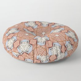 caged Floor Pillow