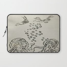 Under The Sea Sketch Laptop Sleeve