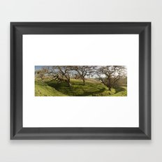 Oak Ridge Framed Art Print